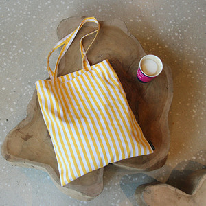 Yellow Stripe EcoBag