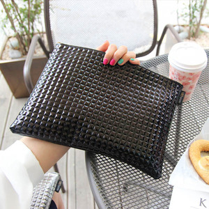 Metallic Black Clutch