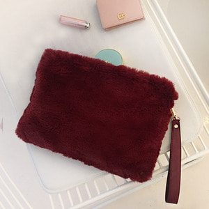 Fur Clutch Wine /30%SALE/